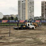 """Първи тренировъчен стадион на ПФК """"Левски София"""" от Green Game"""